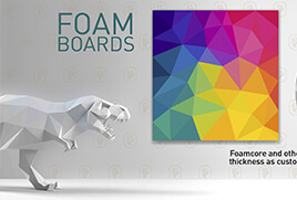 Foam Board Printing for Office