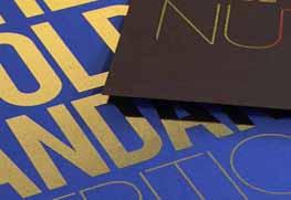 Digital Gold Foil sell sheet