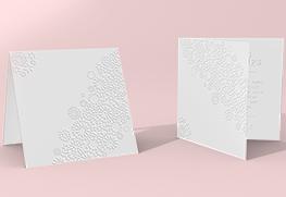 Custom Emboss Greeting Cards
