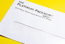 Foil Stamp Env - Silver