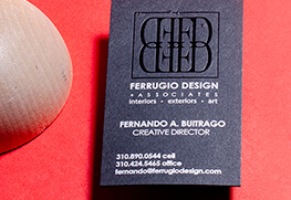 Custom White Ink Business Cards
