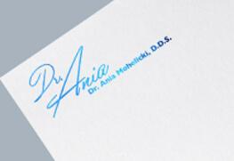 Letterhead - Blue Foil