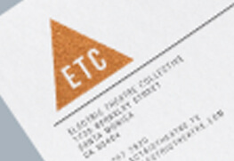 Letterhead - Copper Foil