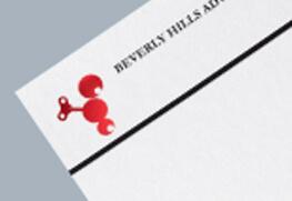 Letterhead - Red Foil