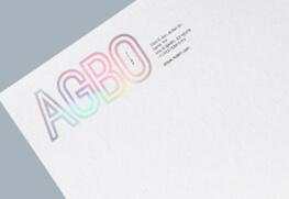 Letterhead - Hologram Foil