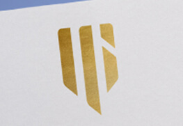 Foil Notecard - Gold