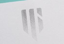 Foil Notecard - Silver