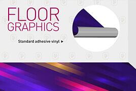 Floor Graphics for Malls